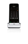 Gigaset SL930H - Cordless extension handset with caller ID - DECTGAP / IEEE 802.11b/g/n (Wi-Fi) - piano black, metal