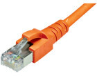 Dätwyler Patchkabel: S/FTP, 10m, orange