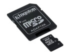 microSDHC Card 8GB, Kingston, inkl. SD Adap