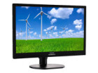 "Philips Brilliance S-line 241S6QYMB - LED monitor - 23.8"" - 1920 x 1080 FullHD - AH-IPS - 250 cd/m2 - 1000:1 - 20000000:1 (dynamic) - 14 ms - DVI-D, VGA, DisplayPort - speakers - textured black with black stand"