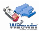 Wirewin Hirose Stecker TM21, 10er Pack, CAT6, inkl.