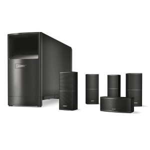 Bose Acoustimass 10 Series V Home Cinema Speaker System, Schwarz