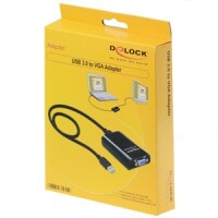 Delock Adapter USB 3.0 - VGA