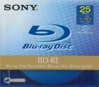 Sony Blu-ray rewritable Medium 25GB JewelCase 1x