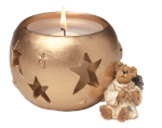 Boyds Bearstone - Starla Angelbeary Christmas Candle