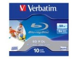 Verbatim BD-R 6x Dual Layer 50GB 10 Pck