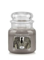 Kringle Candle Country Medium Classic Jar - 2 Docht - Grey