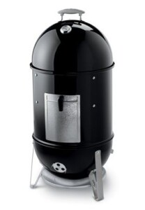 Weber Holzkohle-Grill Smokey Mountain Cooker 47 cm, Black