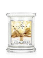 Kringle Candle Small Classic Jar - Gold & Cashmere