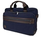 Dell Topload Canvas Laptop Tasche in Stoff Navy blau