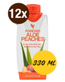Forever Aloe Peaches - Set mit 12x 3.3dl