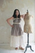 JDL Dress/Kleid - Pure charm Latte