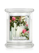 Kringle Candle Medium Classic Jar - 2 Docht - Picket Fence