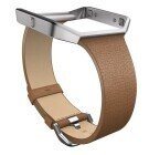 Fitbit Blaze Accessory - Leather Band dünn - Camel - Large