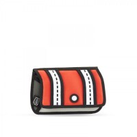 JumpFromPaper Stripe Pouch rot