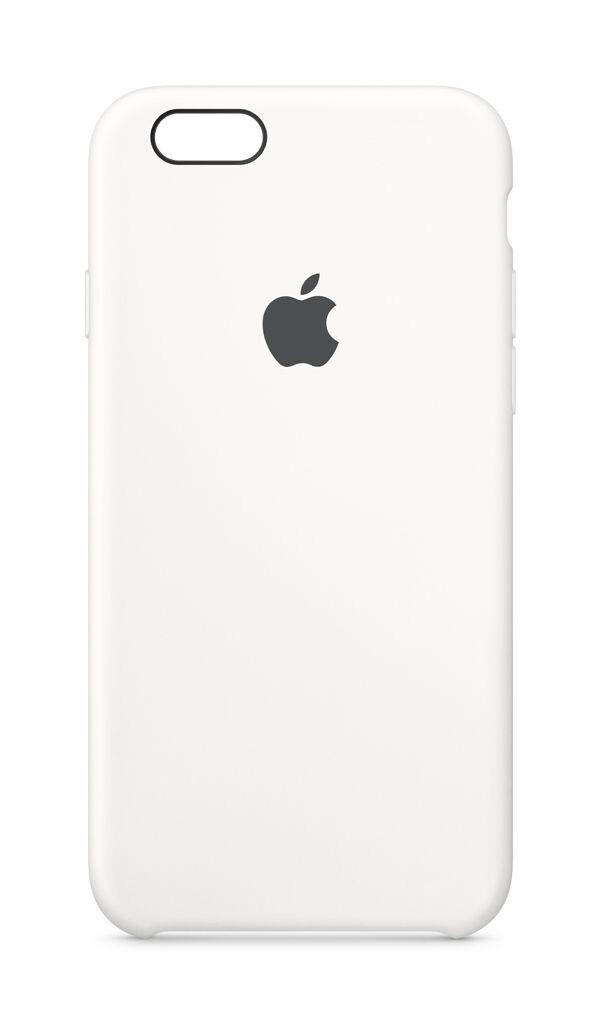 iPhone 6s Silikon Case, Weiss