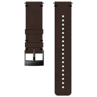 Suunto 24mm Urban 2 Leather Strap, Brown Black, Grösse M