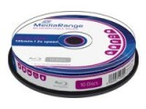 MediaRange - 10 x BD-RE - 25 GB 2x