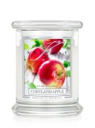 Kringle Candle Medium Classic Jar -2 Docht - Cortland Apple