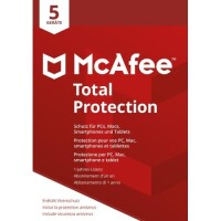 Mcafee Total Protection 2018 Mcafee Total Protection 2018 Mtp00gnr5 5 Devices Code In A Box