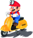 Carrera R/C 1:20 RC Mario Scooter Odyssey 2.4GHz Full Function