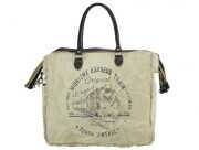 Sunsa Vintage Shopper - Midnight Express white