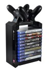 Numskull Official PS4 Games Tower + Dual Charger