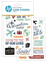 Hewlett-Packard HP Moment Makers 6RW46A Clear