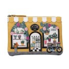 "Vendula London Zipper Coin Purse ""Flower Shop"""