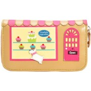 "Vendula London Medium Zip-Around Wallet ""Cupcake"""