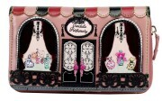 "Vendula London Medium Zip-Around Wallet ""Perfumery"""