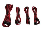 Corsair Premium Sleeved Kabel-Set - rot/schwarz