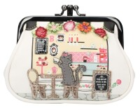 "Vendula London Clipper Coin Purse ""Biscuit Shop"""