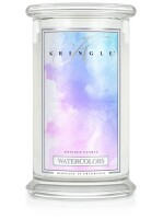 Kringle Candle Large Classic Jar -2 Docht  - Watercolors