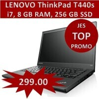 "TOP PROMO - LENOVO ThinkPad T440s Ultrabook i7-4600U ""refurbished"""