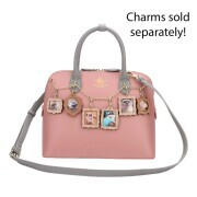 "Vendula London ""Maisy Charm Bag"" - rose"