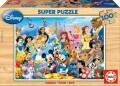 Educa Holzpuzzle 12002 - World of Disney 100 Teile