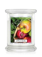 Kringle Candle Medium Classic Jar - 2 Docht - Apple Basil