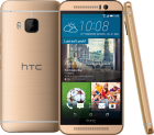 HTC One M9, 32GB, Gold on Gold