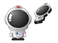 ROOST ISTYLE    Wireless charger Astronaut