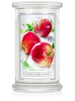 Kringle Candle Large Classic Jar -2 Docht - Cortland Apple