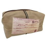 Disaster Designs Moustache Wash Bag / Necessaire - Apothecary