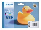 Epson Multipack 4 Farben T0556, 32ml