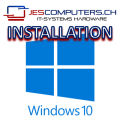 "Operating system installation MS Windows 10 ""JES Service"""
