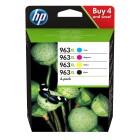 HP Combopack Nr. 963XL (3YP35AE) Black Cyan Magenta Yellow
