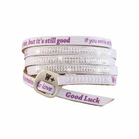 We Positive Armband Luxury - SWAROVSKI BIANCO