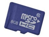 Hewlett-Packard HP  8GB Micro sd EM Flash Media Kit