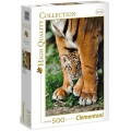 Clementoni Puzzle - Baby Tiger 500
