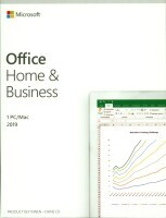 Microsoft® Office Home and Business 2019 German EuroZone 1 License Medialess - Language: German only