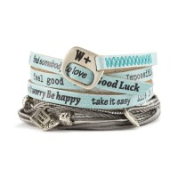 We Positive Armband Nice - tiffany